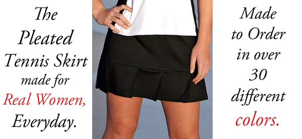 Image Tennis Skirts Only.  The No Shorts Zone