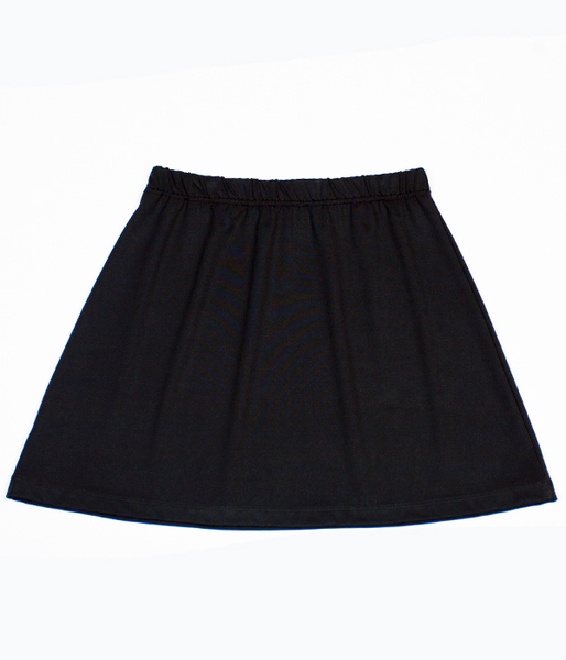Lightweight Black A Line Skirt - No Shorts- Perfect for Summer!