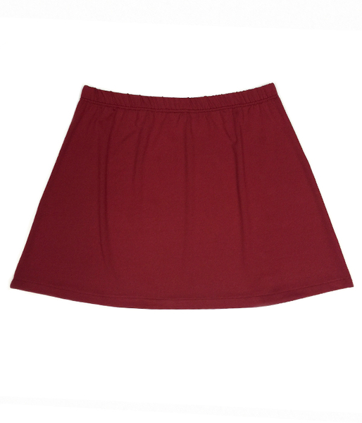 Garnet Tennis Skirt - No Shorts