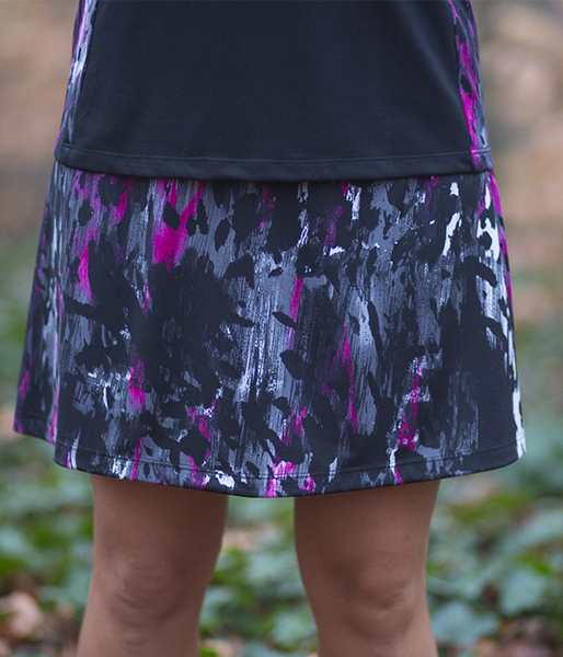 Volcano A Line Tennis Skirt - No Shorts