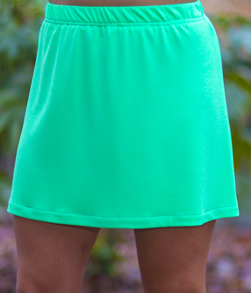 Limelight A Line Skirt - No Shorts Zone