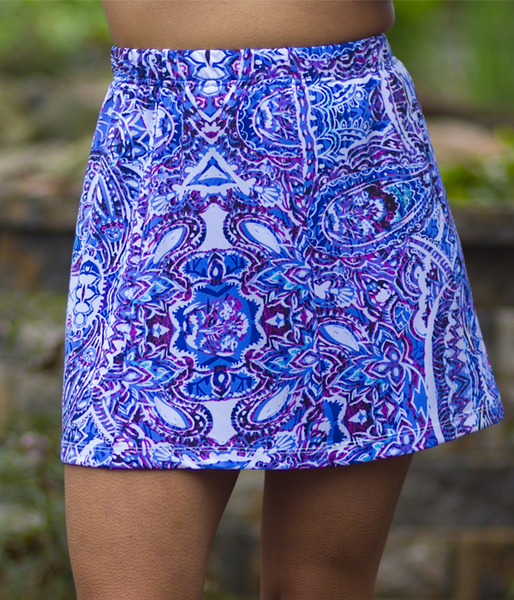 Mahalo Panel Tennis Skort - New Design - 2018!