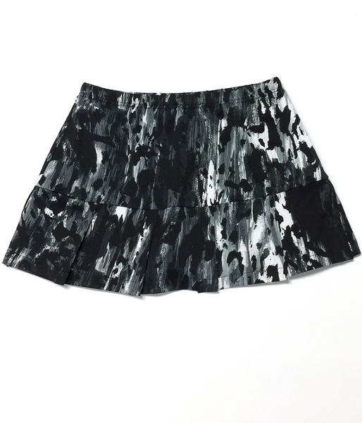 Black Pleated Tennis Skorts - From Petitie to Plus Sizes Tennis Skirts