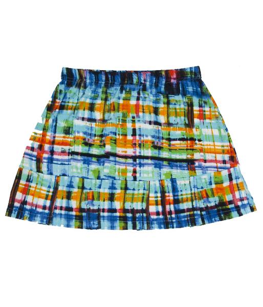 Custom Blues Pleated Tennis Skirt
