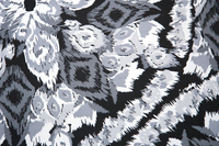 Image Abstract Gray Nylon Lycra - Fabric Alert!