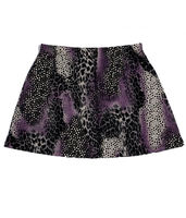 A Line Tennis Skirt featured in Animal Abstract - No Shorts