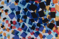 Image Astana Blue Nylon Lycra - Fabric Alert!