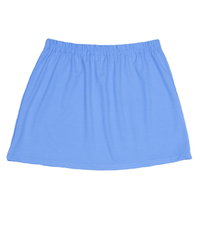 Size Large - A Line Tennis Skirt Featured Carolina Blue - No Shorts