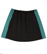 Image Custom Deep Emerald Green Color Block Skirt-Pockets, No Shorts - Lakewood, NJ