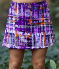 Image A Line Tennis Skirt Featured In Lavender Jazz or Wildfire - No Shorts