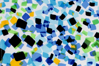 Image Lime and Blue Abstract