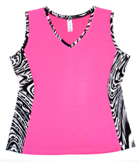 Image Custom Neon Pink and Luna Edge Tennis Top - Lakeside Park, Kentucky