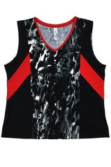 Image Custom Rock'n Lava, Red and Black Challenger Top - Bradenton, Florida