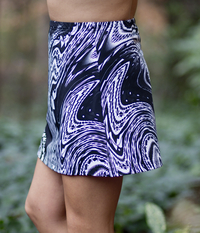 Image A Bold A Line Tennis Skirt Featured in Luna - No Shorts