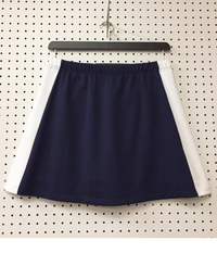 Image Size Medium - Navy and White Color Block Skirt - Last One in this Size!