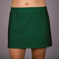 Image Size XL - Kelly Green A Line Skirt with Attached Kelly Green Shorts