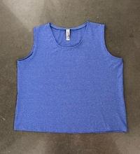 Image Size XL - Blue Fusion Classic Top - Shorter Length