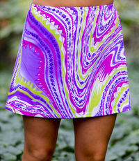 Image Size 3X - Nova A Line Skirt - No Shorts - 18 inch Length