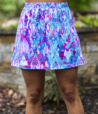 Image A Line Tennis Skirt Featured in Fun! - No Shorts  - NEW PRINT!