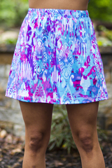 Image Size Small Plus - Fun! A Line Skirt - No Shorts - Larger Hips!