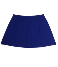 Image Size XL - A Line Tennis Skirt Featured In Royal - No Shorts - With Pockets