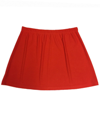 Image A Line Tennis Skirt in Paprika, Amber, Athletic Orange - No Shorts - SALE!