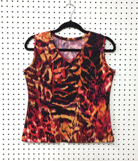 Image Custom Wildfire V Neck Tennis Top -  Napa, California - SALE!