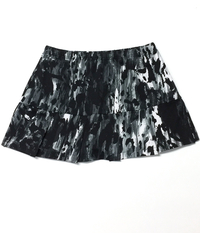 Image A Pleated Tennis Skirt with Shorts in Rock'n Lava