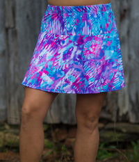Image A Blissful Flounce Tennis Skirt in Fun with Shorts