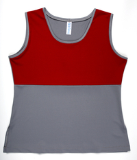 Image Custom Red and Pearl Empire Silhouette Top - Scottsdale, AZ