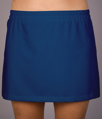 Royal A Line Tennis Skirt With Built In Compression Shorts