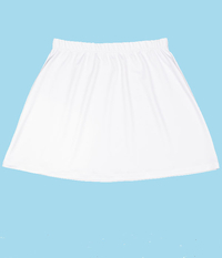 Image The Sale White A Line Tennis Skirt - No Shorts - New Low Price