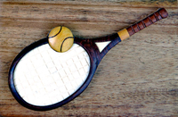 Image Vintage Tennis Racket Beautiful Box