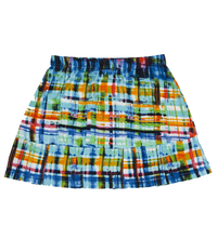 Image Custom Blues Pleated Tennis Skirt - With Shorts - Denver, Co